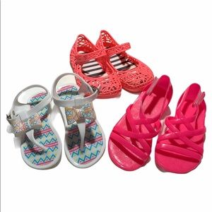 Other - 🎃 Bundle of 3 little girls shoes, size 8.